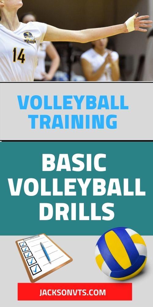 Basic Volleyball Drills