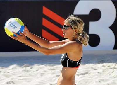 Beach Volleyball Serve