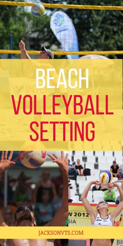 Beach Volleyball Setting