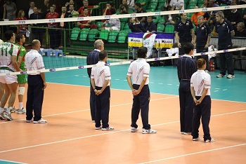 Officials in Volleyball