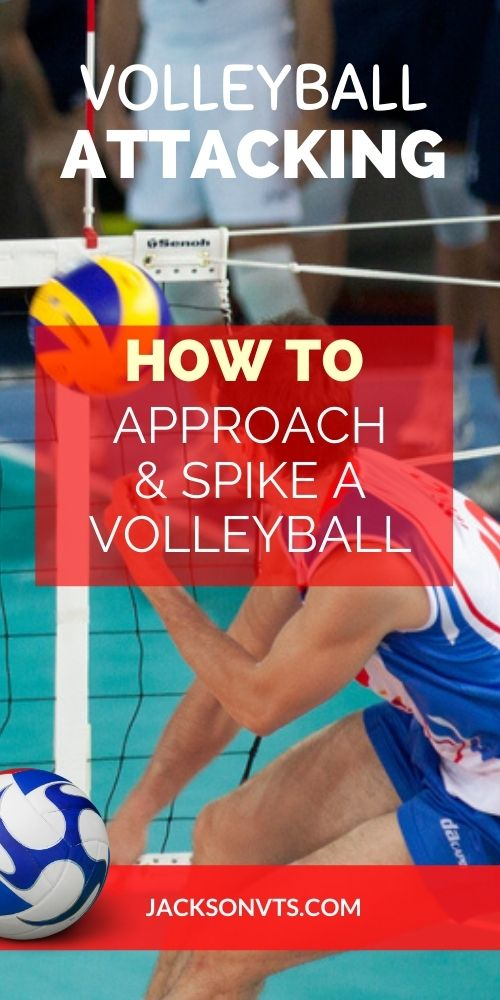 Volleyball Approach and Spike Tips