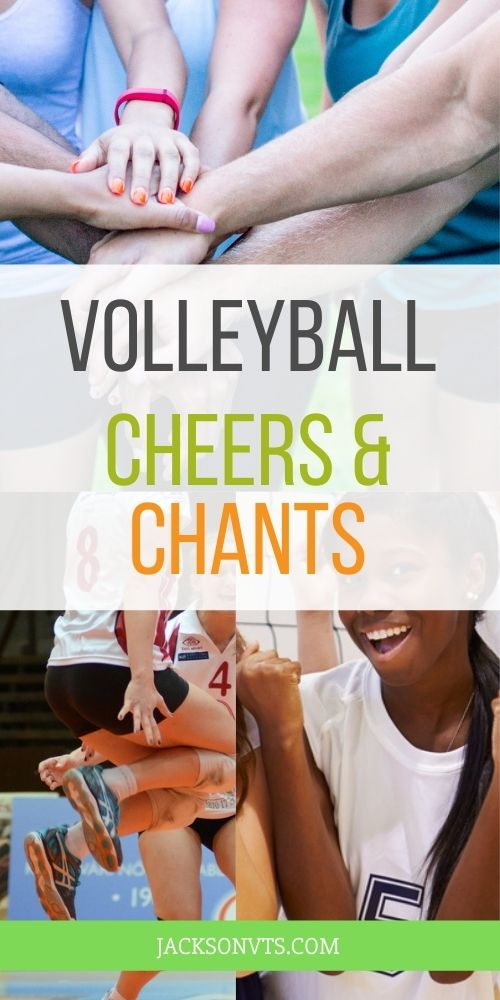 Volleyball Chants for Teams