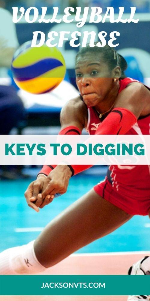 Volleyball Defense Keys to Digging