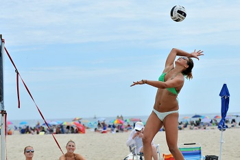 Volleyball Hitting