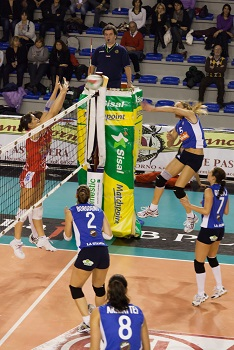 Volleyball net System