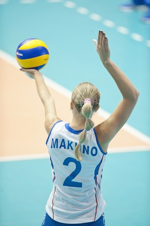 volleyball serve technique
