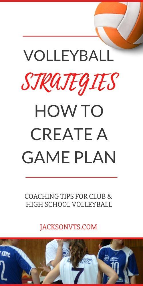Strategies for winning volleyball