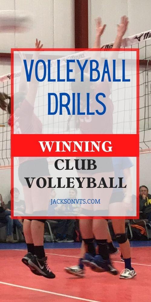 Volleyball Drills Winning Club Volleyball