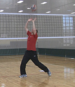 Volleyball Setter Footwork