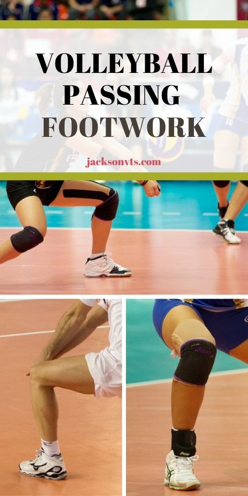 Volleyball Passing Footwork