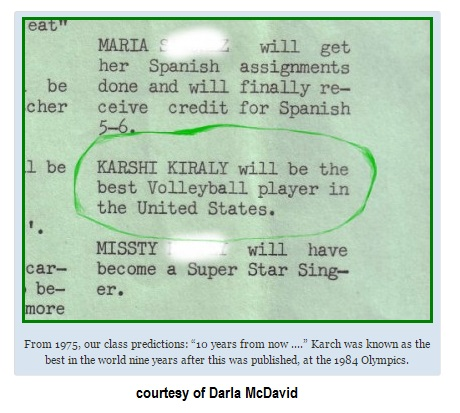 Karch Kiraly Volleyball Prediction