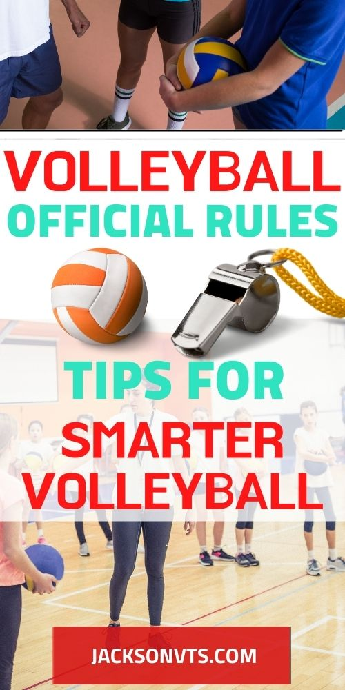Volleyball Official Rules What to Know