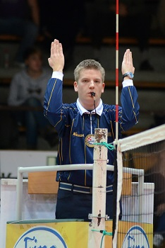 Officials of Volleyball
