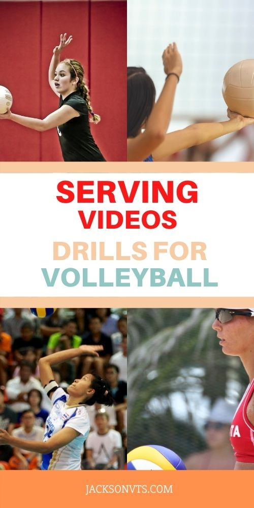 Drills for Serving a Volleyball