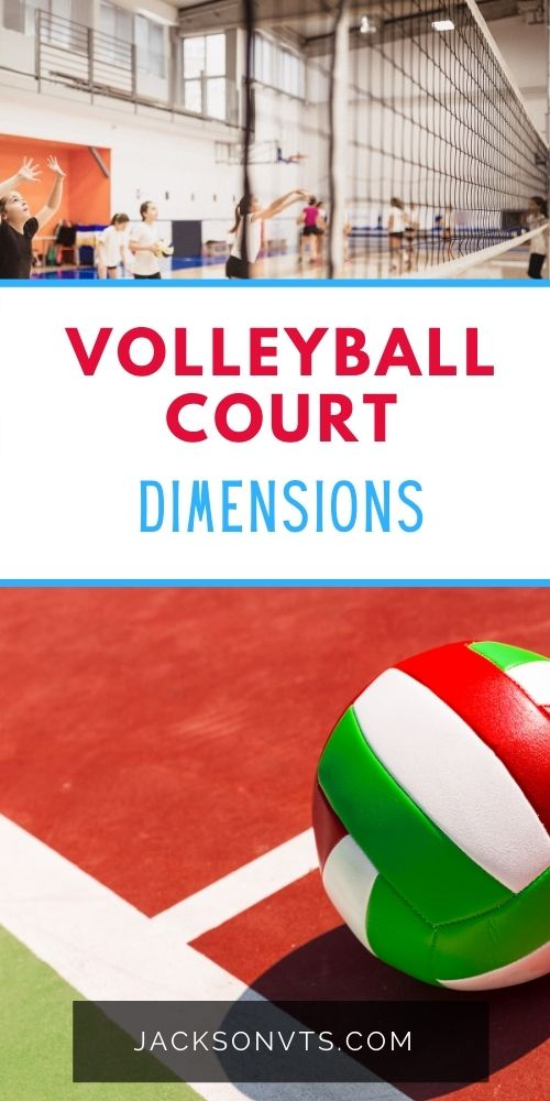 Volleyball court diagrams
