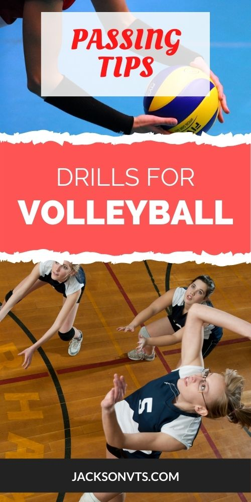 Volleyball Passing Tips