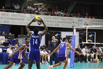 Volleyball Positions on the Court