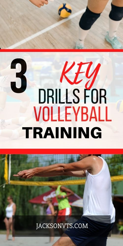 Skills Training Tips for Volleyball