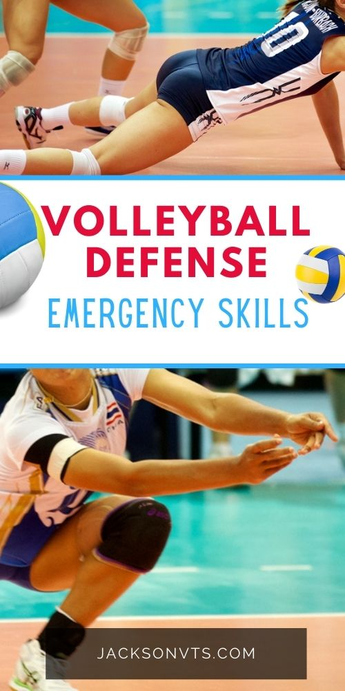 Volleyball Skills for Defense