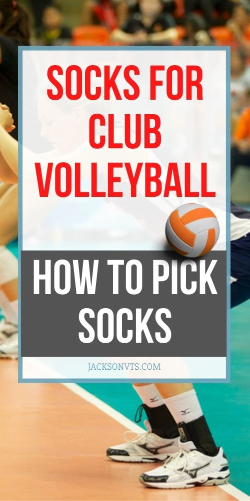 Socks for Club Volleyball