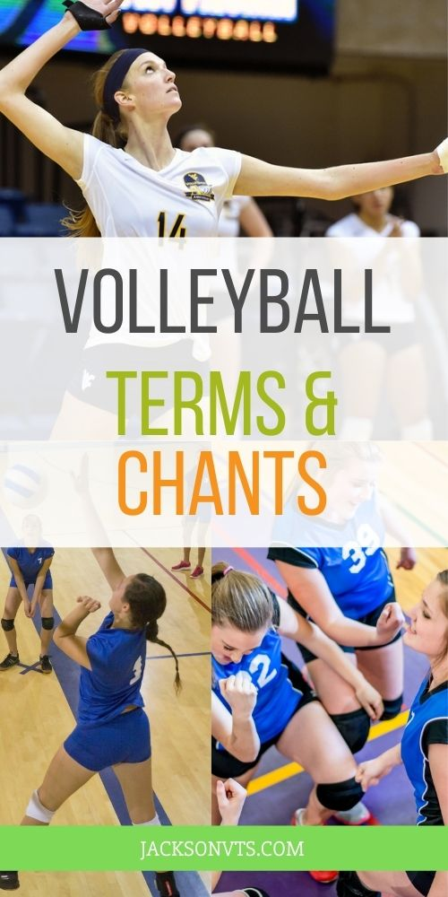 Terms for Volleyball Players